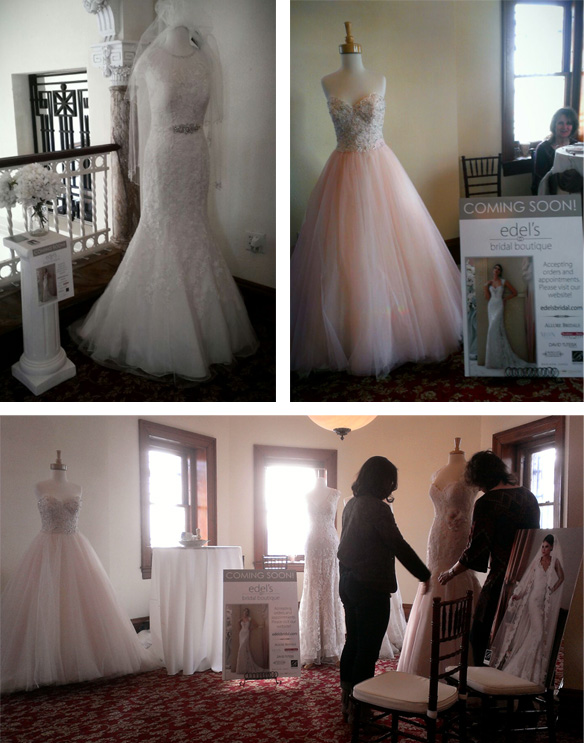 Edel's Bridal Boutique at the Havre de Grace 2015 Wedding Walk
