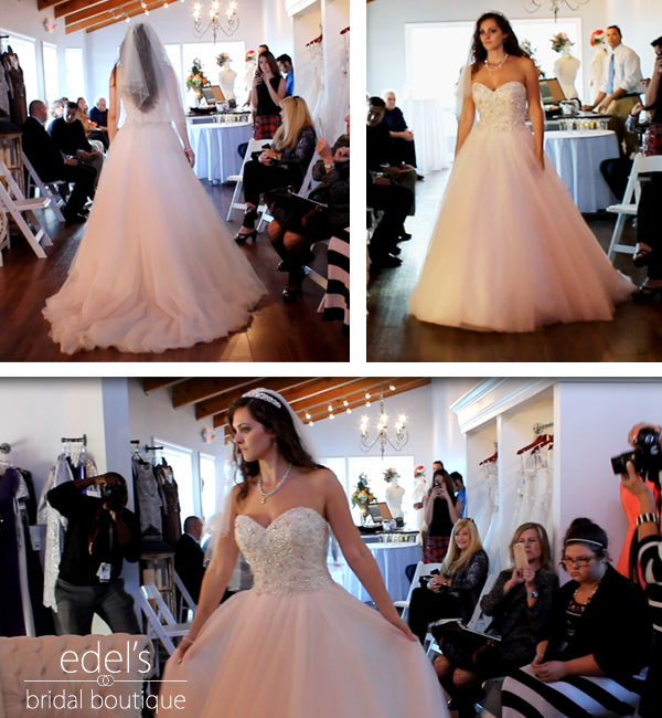 Edel's Bridal Boutique Runway Show and Upcoming Events