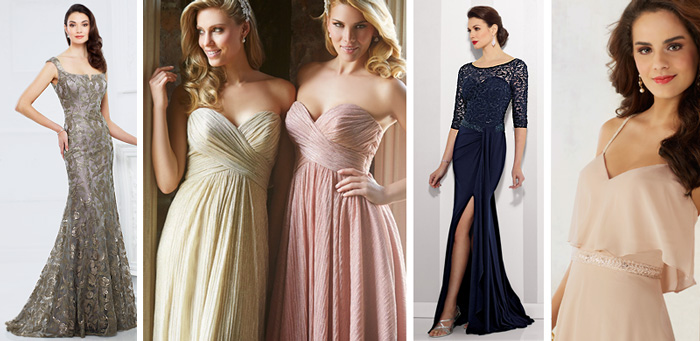 Mother and Bridesmaids Dress Collection